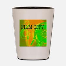 FilmCityNeon1 Shot Glass