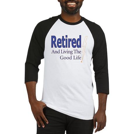 """Retired"" Baseball Jersey"