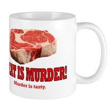 ART Meat is murder Mug