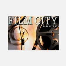 FilmCitySquares Rectangle Magnet