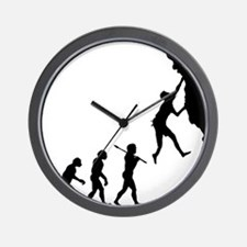 Rock Climbing 7 Wall Clock