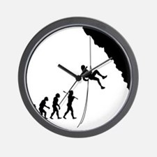 Rock Climbing 10 Wall Clock