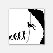 "Rock Climbing 10 Square Sticker 3"" x 3"""