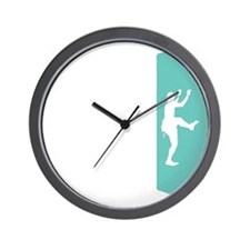 Wall Climbing 2 White Wall Clock