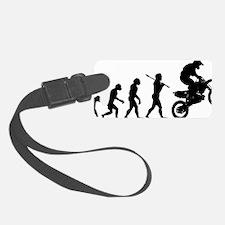 Motocross C Luggage Tag