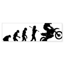 Motocross C Bumper Sticker