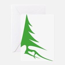 Tree-iso Greeting Card