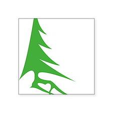 "Tree-iso Square Sticker 3"" x 3"""