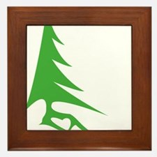 Tree-iso Framed Tile