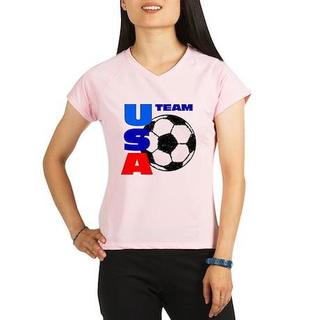 usa soccer 9 Performance Dry T-Shirt