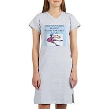 rugby joke Women's Nightshirt