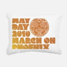 May Day March on Phoenix Rectangular Canvas Pillow