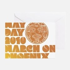 May Day March on Phoenix Greeting Card
