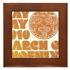 May Day March on Phoenix Framed Tile