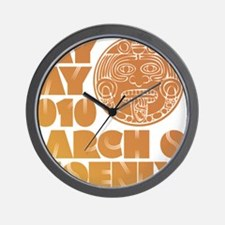 May Day March on Phoenix Wall Clock