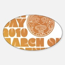 May Day March on Phoenix Sticker (Oval)