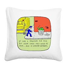 2-oscarcolor Square Canvas Pillow
