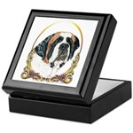 St Bernard Christmas/Holiday Keepsake Box