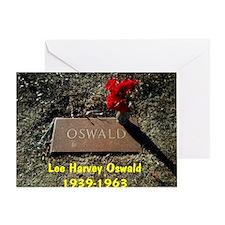 Lee Harvey Oswald 1939-1963(mousepad Greeting Card