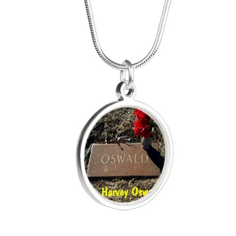 Lee Harvey Oswald 1939-1963( Silver Round Necklace