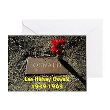 Lee Harvey Oswald 1939-1963(banner) Greeting Card