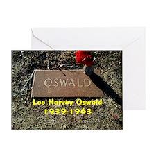Lee Harvey Oswald 1939-1963(black ca Greeting Card