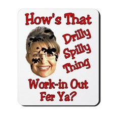 2-drilly spilly thing1 Mousepad