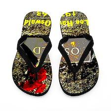 Lee Harvey Oswald 1939-1963(pastel16) Flip Flops