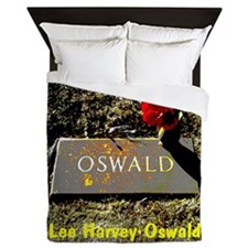 Lee Harvey Oswald 1939-1963(pastel16) Queen Duvet