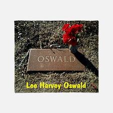Lee Harvey Oswald 1939-1963(16) Throw Blanket