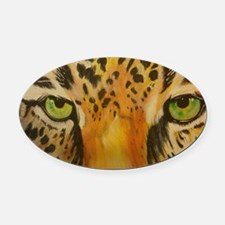 jaguareyes Oval Car Magnet