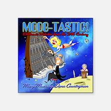 "Moog-Tastic_final.DARKHELME Square Sticker 3"" x 3"""
