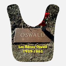 Lee Harvey Oswald 1939-1963(button) Bib