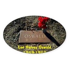 Lee Harvey Oswald 1939-1963(large f Decal