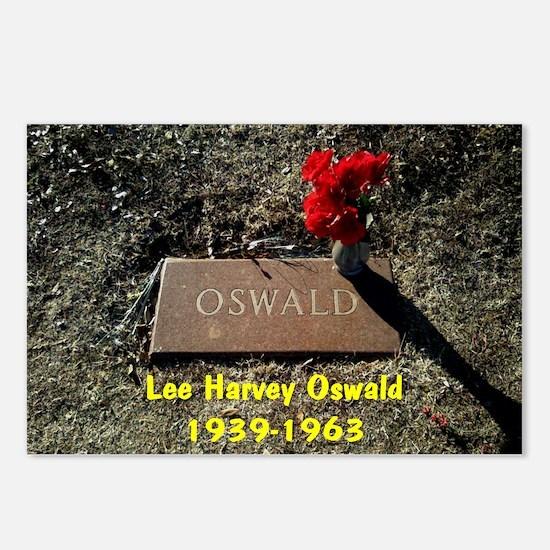 Lee Harvey Oswald 1939-19 Postcards (Package of 8)
