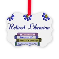 Retired Librarian Ornament