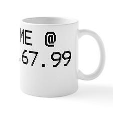 find me at v1 copy Mug