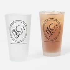 IC Logo Large back Drinking Glass