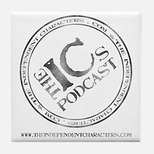 IC Logo Large back Tile Coaster
