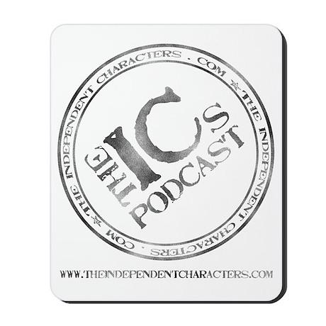 IC Logo Large back Mousepad