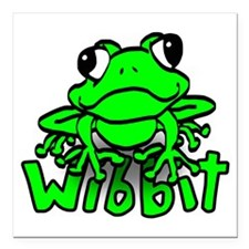 "wibbit Square Car Magnet 3"" x 3"""