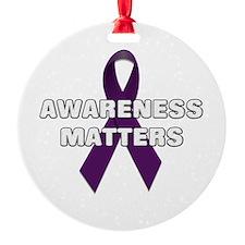 Awareness Matters Ornament