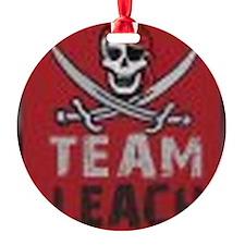 q-mini-teamleachlogo Ornament
