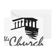 The Church at Rancho Bernardo w/Towe Greeting Card