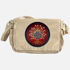 Magical Tree of Lfe Messenger Bag
