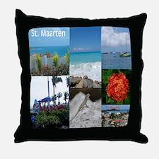 St. Maarten Keepsake Box Photo Throw Pillow