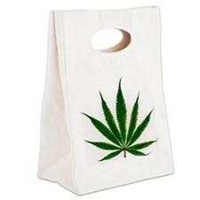 leaf Canvas Lunch Tote