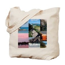 Bermuda Postcard Tote Bag