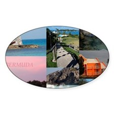 Bermuda Postcard Decal