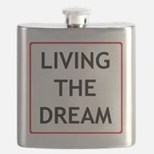 living the dream Flask